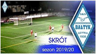 Bałtyk Gdynia - Świt Szczecin 0:3 || skrót || 09.11.2019