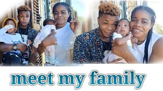 """MEET OUR NEW BORN BABY """" Baby girl name reveal 