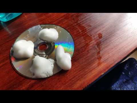How to fix a game disc with no scratches after