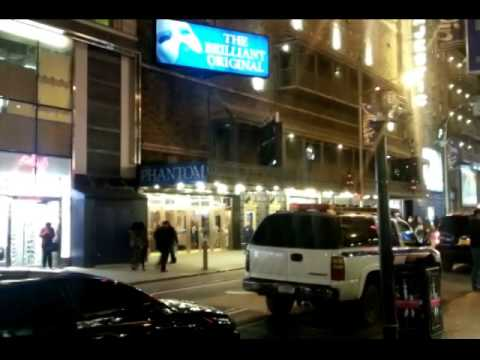 The New York Theater District on New York Live