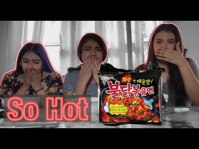 Spicy noodle challenge????