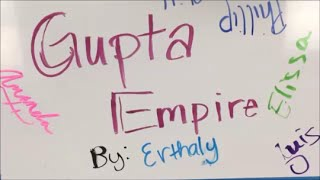 Draw My Decline: Gupta Empire