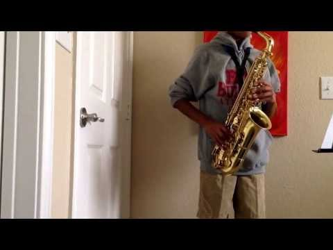 The Pink Panther e flat alto sax