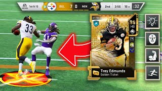 THIS IS MY FAVORITE GOLDEN TICKET! TREY EDMUNDS IS A MACHINE! - Madden 20 Ultimate Team