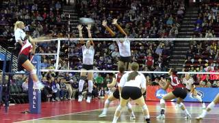 Wisconsin Volleyball vs Texas NCAA Semifinal Recap
