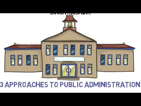 3 Approaches To Public Administration & Values