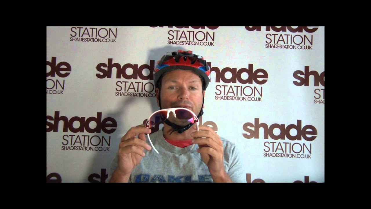 d0b272e54585 Oakley Sunglasses Cycling Helmet Compatibility | Shade Station - YouTube
