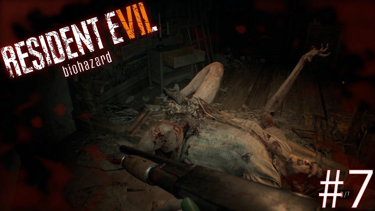 resident evil 7 how to kill margret