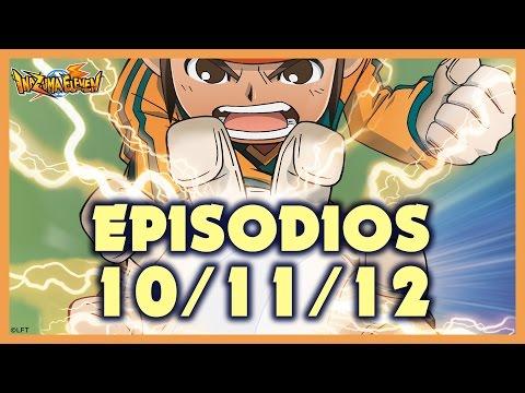Episodios 10, 11 y 12 de Inazuma Eleven