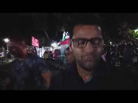 A festa de virada de ano foi divertido em Piritiba conheço a praça