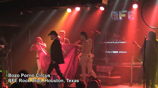 Bozo Porno Circus Song 9 at BFE Rock Club in Houston, Texas