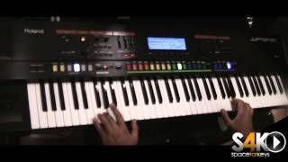 Roland Jupiter 50 synth demo by S4K TEAM part 1 ( Space4Keys Keyboard Solo )