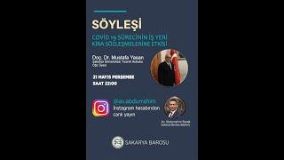 Covid 19 Sürecinin İş Yeri Kira Sözleşmelerine Etkisi İkinci Bölüm (instagram canlı yayın)