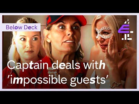 Crew & Captain Deal With 'IMPOSSIBLE' guests!   Below Deck Mediterranean