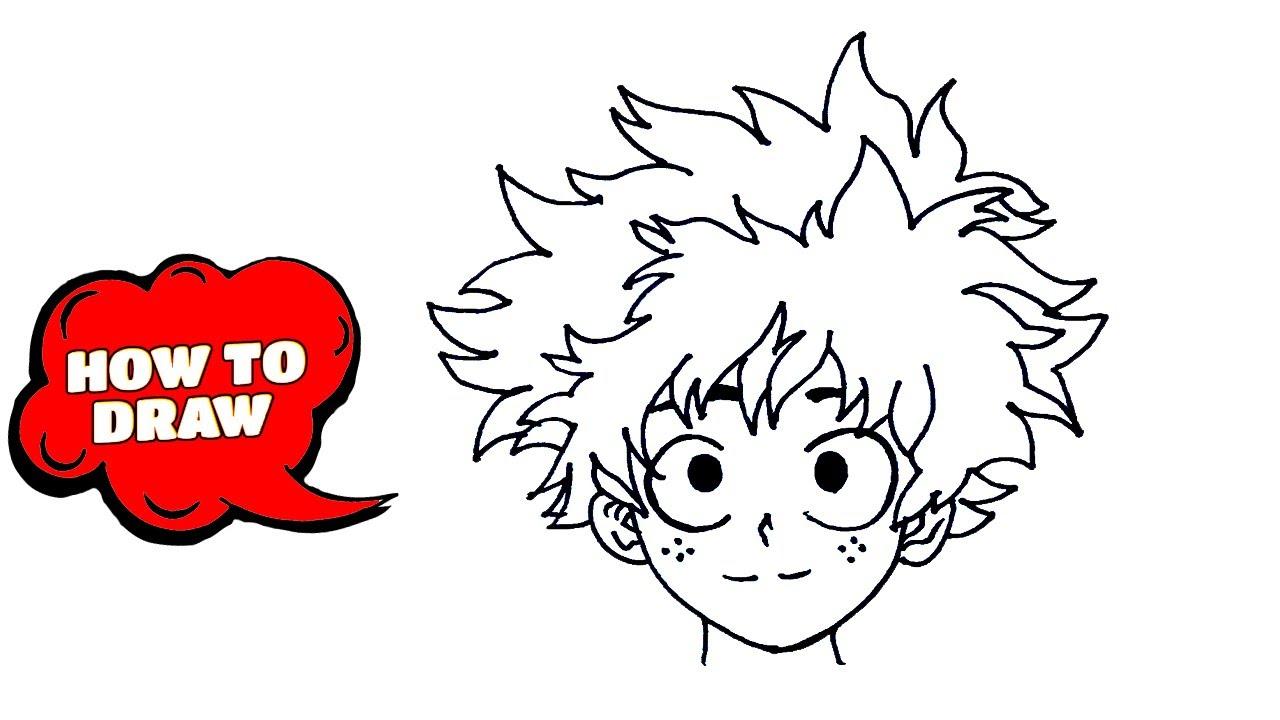 pics How To Draw My Hero Academia Characters Deku how to draw deku my hero academia deku drawing deku drawing tutorial