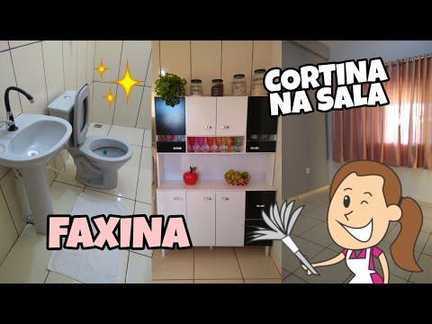 #FAXINA NA CASA + INSTALAMOS A CORTINA | Tati Barbosa thumbnail