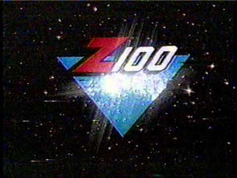 WHTZ (Z100) ad 1985
