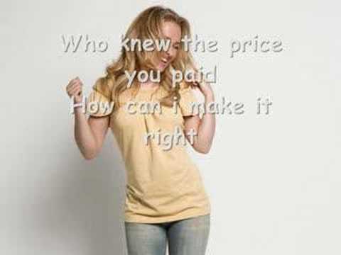 Hayden Panettiere my hero is you Lyrics!!