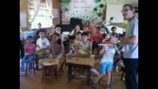 Oficina Cinema mudo com Crianças com Livio Tragtenberg em Lages, SC - 02