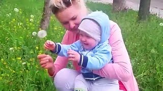 Funny Baby Growing up With Mommy  Funniest Baby Family Moments