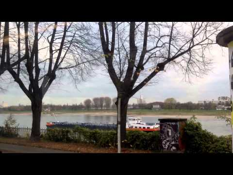 Travelling to UN University in Bonn from Cologne, Germany Nov. 2015