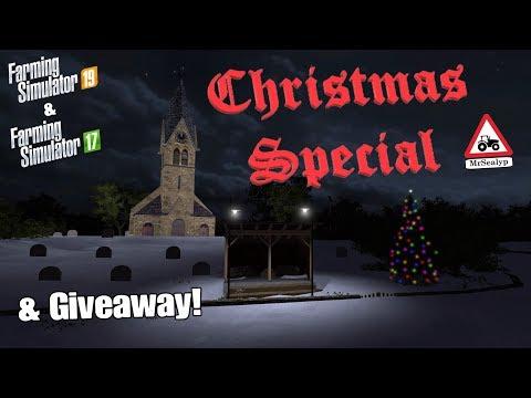 Farming Simulator 19/17, PS4, 2018 Christmas Special & Giveaway! thumbnail