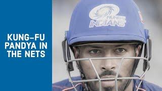 Hardik Pandya in the nets | Mumbai Indians
