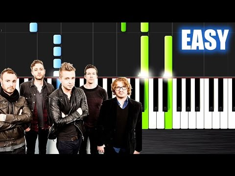 OneRepublic - Counting Stars - EASY Piano Tutorial by PlutaX - Synthesia