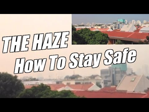 The Haze in Singapore and Health Effects of Air Pollution - HOW TO STAY SAFE & HEALTHY