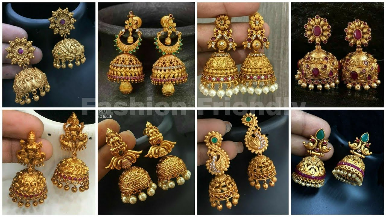 South Indian Style Jhumka Design Yescar Innovations2019 Org
