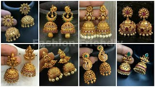 Gold jhumka designs 2019 | Gold jhumka earrings | latest gold jhumka designs 2019 - Fashion Friendly