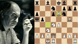 Chess: Amazing attack by Mikhail Tal