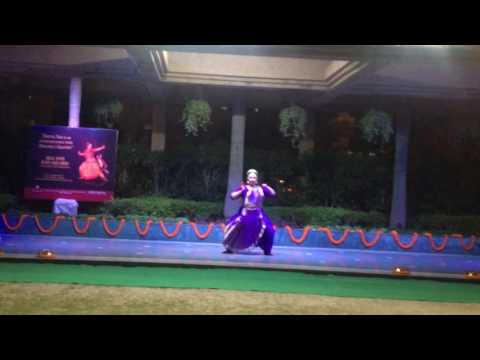 Dimple Kaur Performing Natya Yoga