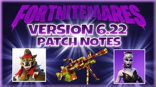 VERSION 6.22 NOTES PATCH - Fortnite StW - France Pve
