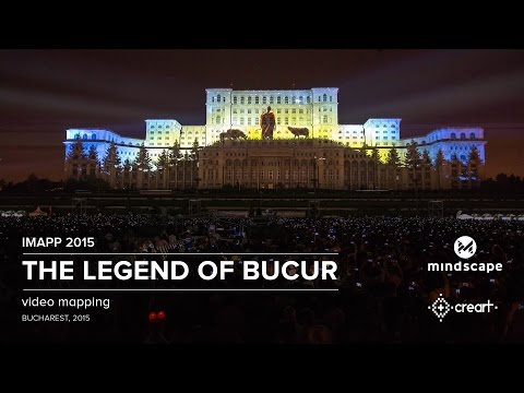 Legenda lui Bucur - Public Choice Award at iMapp Bucharest 2015