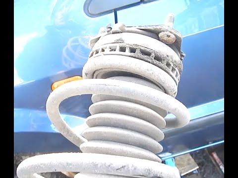 Замена передних пружин на Форд Фьюжен.Замена стоек.