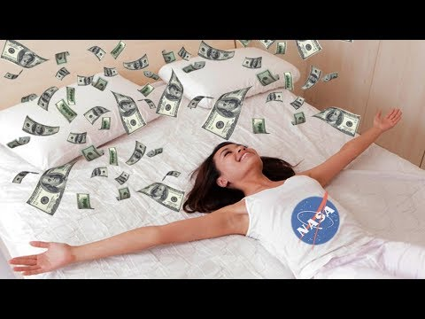 NASA Will Pay You $100K To Stay In Bed - Experimental Space Bed