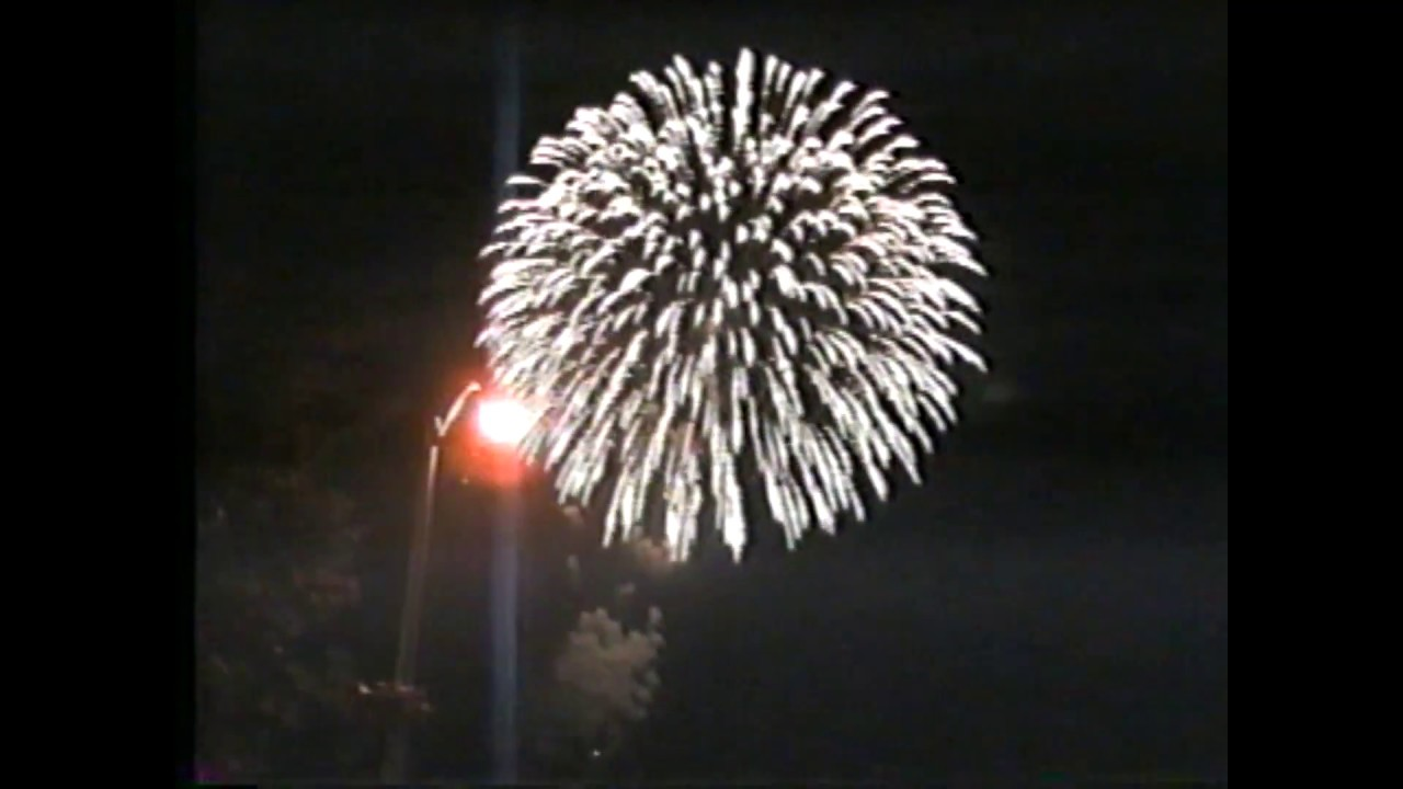 Rouses Point Fireworks  6-30-02