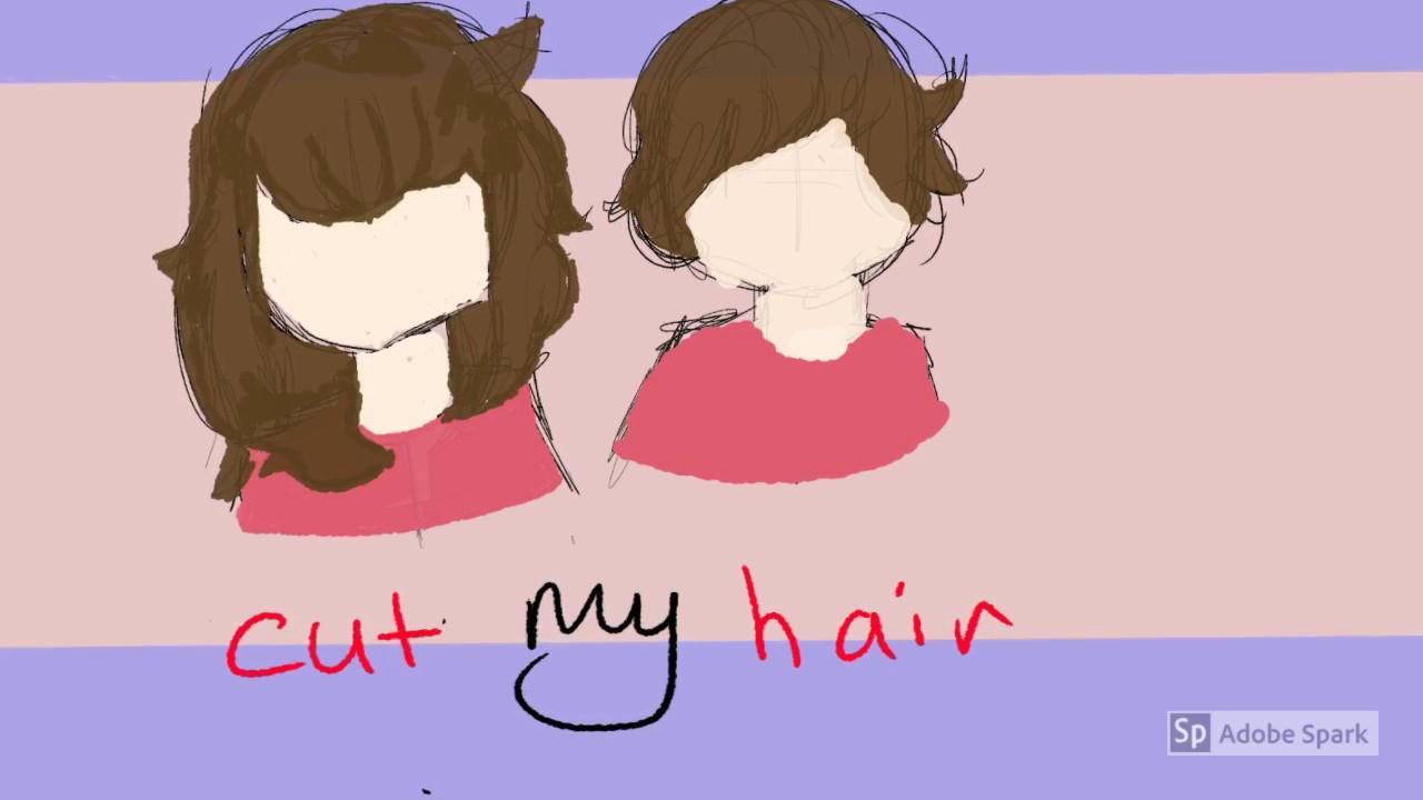 Cut My Hair Art Meme Youtube