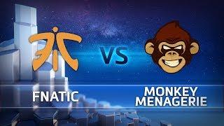 HGC 2018 EU – Phase 2 Week 10 - Fnatic vs. Monkey Menagerie - Game 3
