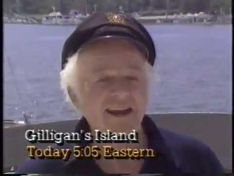 Alan Hale Jr. 1986 WTBS Gilligan's Island Castaway Quiz Promo