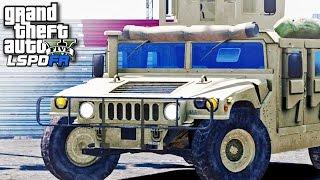 GTA 5 LSPDFR SP #74 - Military Patrol