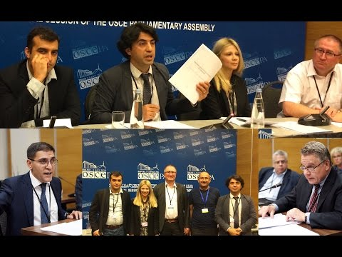 Norway-supported Azerbaijan side event at the #OSCEPATbilisi: Ignoring the human dimension