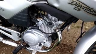 Ybr125 moteur en cours de rodage.