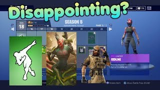 Why Season 5 Battle Pass Was Disappointing - Fortnite Battle Royale Discussion