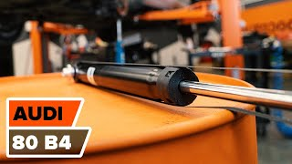 Βίντεο οδηγίες για το AUDI 80