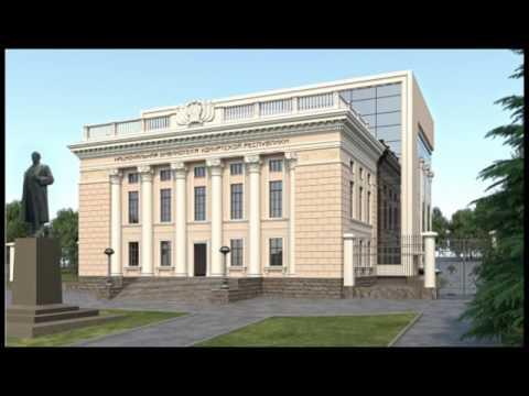 28 02 17 В Ижевске показали, как будет выглядеть обновлённая Нацбиблиотека Удмуртии