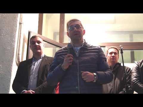 Изјава на претседателот на ВМРО ДПМНЕ Христијан Мицкоски 26 09 2018 Ресен