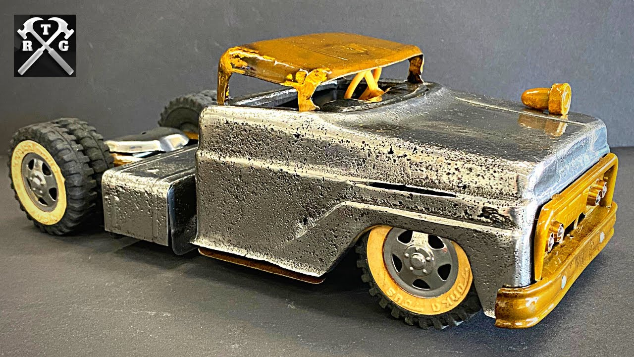 Tonka Rat Rod Custom - Not Your Typical Restoration