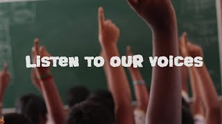 LISTEN TO OUR VOICES | CHILDREN'S DAY SPECIAL | Oru Viral Puratchi in the making